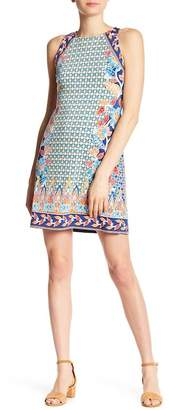 Hale Bob Sleeveless Print Dress