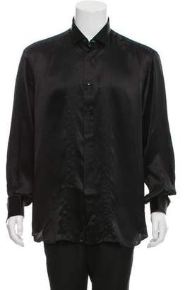 Stefano Ricci x Galtrucco Silk French Cuff Shirt w/ Tags