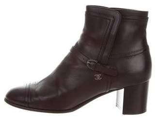 Chanel 2016 Cap-Toe Boots