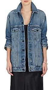 Alexander Wang Denim x Women's Daze Denim Oversized Jacket - Lt. Blue