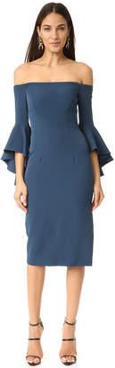 Milly Selena Slit Dress $485 thestylecure.com
