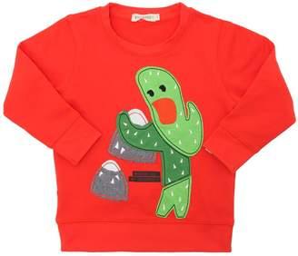 Cactus Print Cotton Sweatshirt