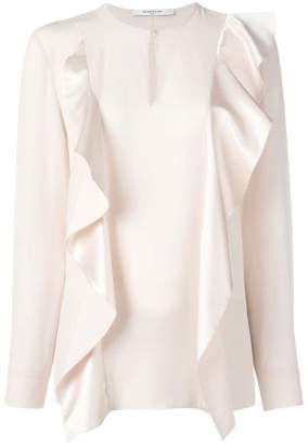 Givenchy ruffle panel blouse