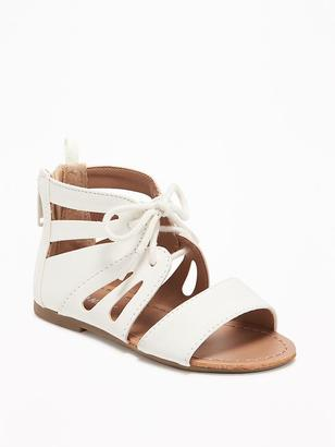 Butterfly Cut-Out Sandals for Toddler Girls $16.94 thestylecure.com