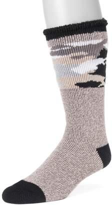 Muk Luks Men's Heat Retainer Thermal Socks