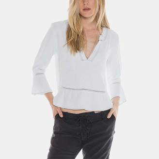 Bella Dahl Peplum Pullover Shirt