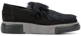 Pollini platform loafers