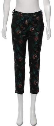 Zadig & Voltaire Mid-Rise Jacquard Pants w/ Tags