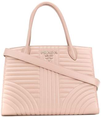 Prada quilted tote