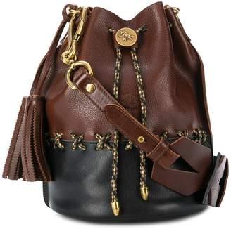Il Bisonte braided bucket bag