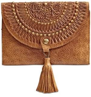 Patricia Nash Colli Distressed Leather Vintage Wallet