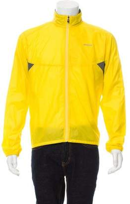 Patagonia Logo Print Windbreaker Jacket