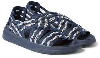 Missoni Malibu Canyon Woven Webbing Sandals