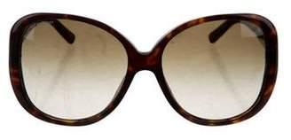 Burberry Tortoiseshell Oversize Sunglasses