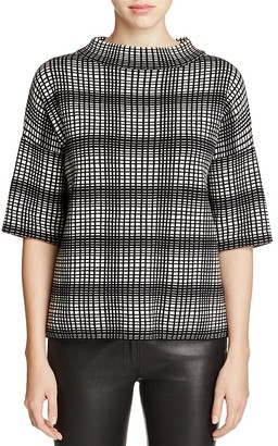 FRENCH CONNECTION Optic Gina Sweater $138 thestylecure.com