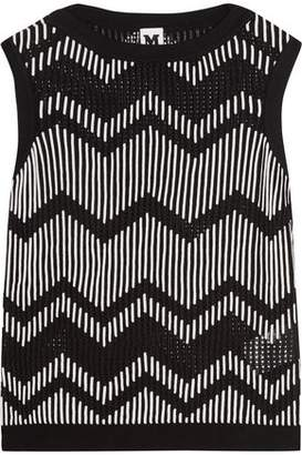 M Missoni Color-Block Knitted Top