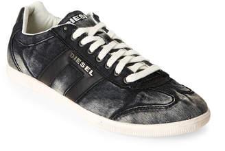 Diesel Black Happy Hours Vintagy Lounge Low Top Sneakers