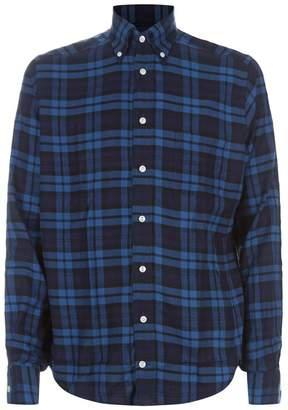Eton Check Cotton Shirt