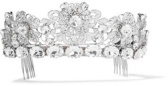 Dolce & Gabbana - Palladium-tone Crystal Headpiece - Silver $2,395 thestylecure.com