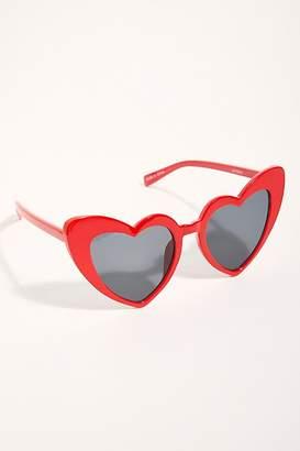 Free People Heart Eyes Sunglasses