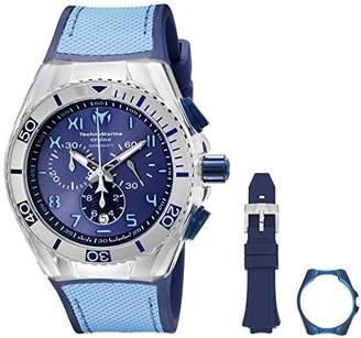 Technomarine Men's TM-115069 Cruise California Analog Display Swiss Quartz Blue Watch