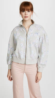 Rebecca Taylor Fabnne Fleece Jacket
