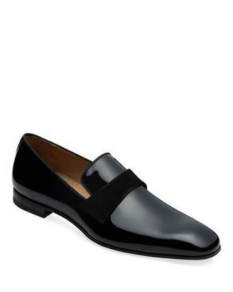 Paul Stuart Men's Heron Patent Leather Loafers