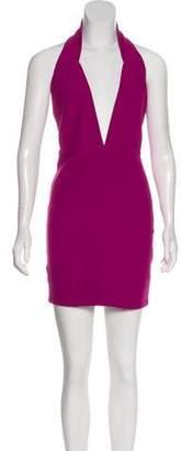 Aq/Aq Halter Mini Dress