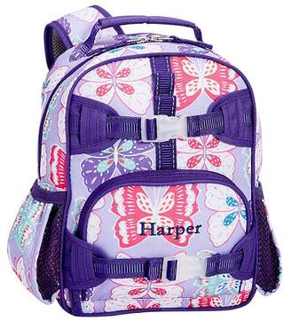Pottery Barn Kids Mackenzie Lavender/Purple Preppy Butterfly Classic Lunch Bag