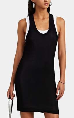 alexanderwang.t. Women's Layered Rib-Knit Tank Dress - Wht.&blk.