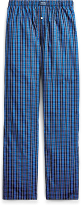 Ralph Lauren Plaid Woven Cotton Pajama Pant