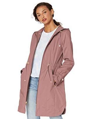 Cole Haan Women's Hooded anorack rain Coat