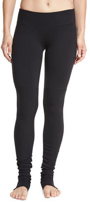 Alo Yoga Goddess Ribbed Sport Leggings $94 thestylecure.com