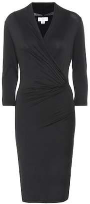 Velvet Roza V-neck dress