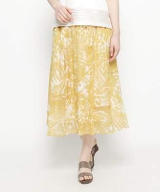 modify (モディファイ) - モディファイ シアートロピカルプリントスカート