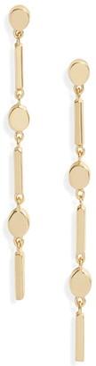 Gorjana Montecito Disc Tiered Earrings