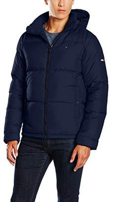 Tommy Jeans Men's Basic Down Jacket,XX-Large