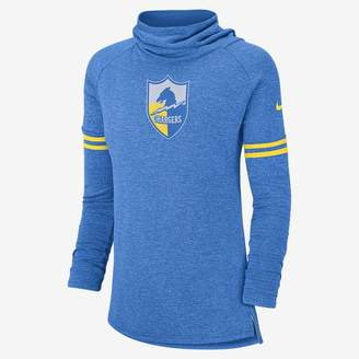 Nike NFL Chargers) Women's Long Sleeve Top