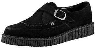 T.U.K. Unisex Shoes Pointed Monk Buckle Brothel Creeper