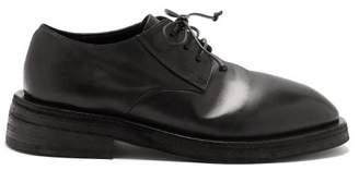 Marsèll Mentone Leather Derby Shoes - Mens - Black