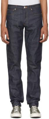 A.P.C. Indigo Raw Denim Petit Standard Jeans