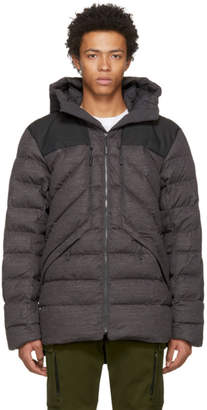 The North Face Grey Down Cryos Jacket