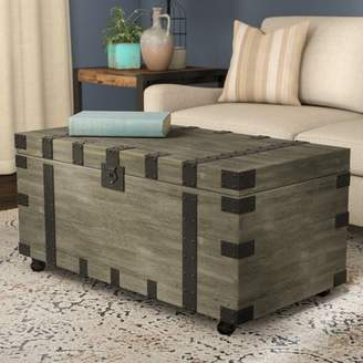 Trunks Gracie Oaks Hillside Coffee Table Trunk