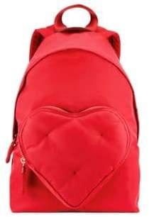 Anya Hindmarch Women's Chubby Heart Backpack - Red