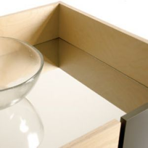 notNeutral Tetra Accessories Trays and Mirror Top