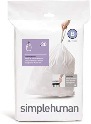 Simplehuman 30 Pack Code B Can Liner