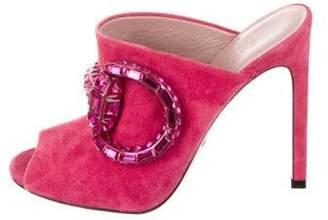Gucci Maxime Horsebit Sandals Pink Maxime Horsebit Sandals