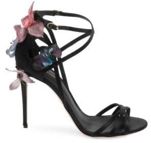 Dolce & Gabbana Knot Ankle-Strap Sandals