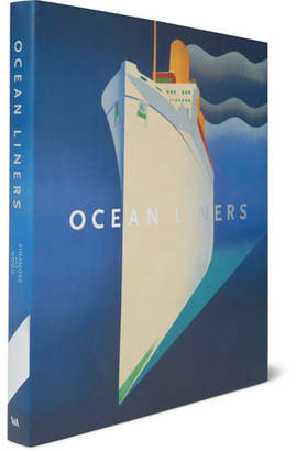 Abrams Ocean Liners: Speed And Style Hardcover Book