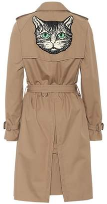 Gucci Cotton-blend trench coat